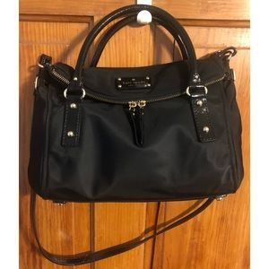 Like New Kate Spade small leslie nylon satchel
